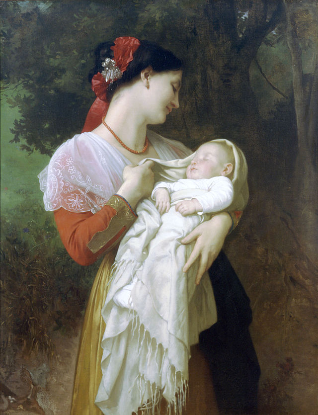 640px-William-Adolphe_Bouguereau_(1825-1905)_-_Maternal_Admiration_(1869)