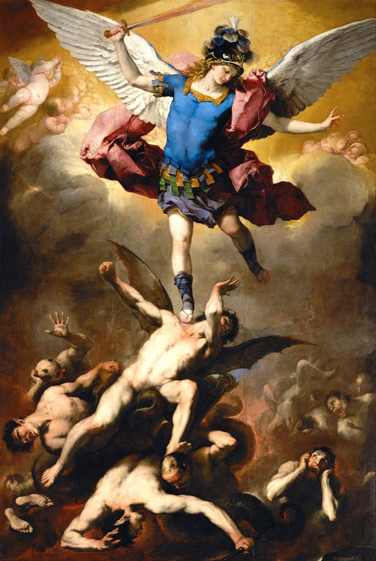 BACH - Luca Giordano - The Fall of the Rebel Angels