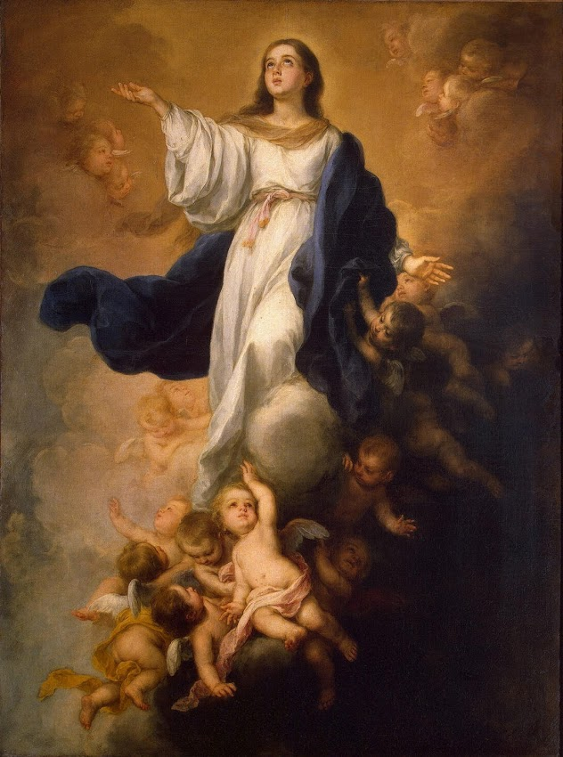 Murillo Bartolome Esteban Walpole Immaculate Conception