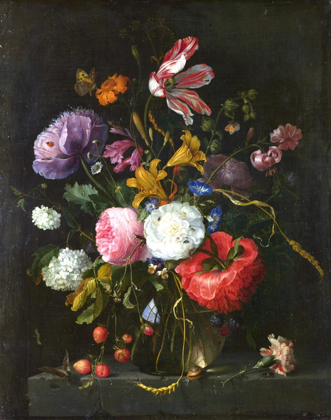PUNTO - Jacob van Walscappelle - Flowers in a Glass Vase