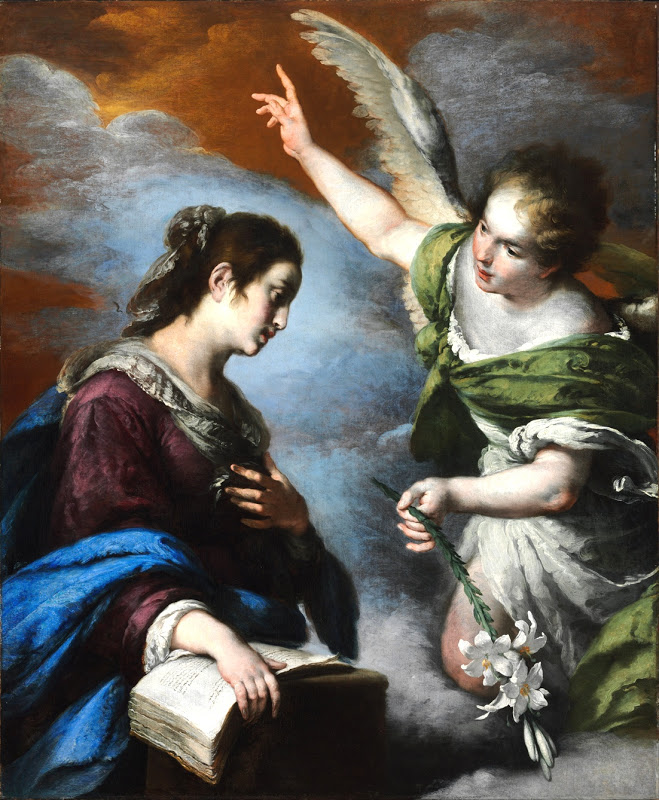 RICHTER - Bernardo Strozzi - The Annunciation