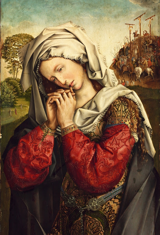 STEFFANI - Colijn de Coter - The Mourning Mary Magdalene (detail c.1500-1504)