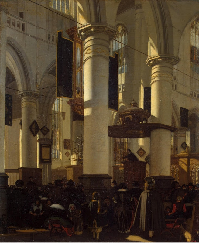 Witte Emmanuel de Interior of a Church