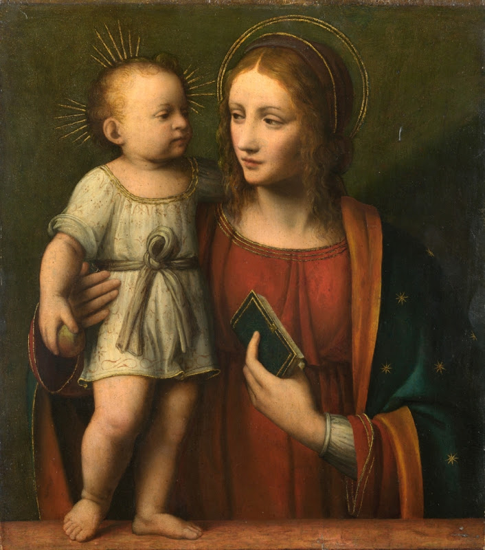 ZELENKA - Workshop of Bernardino Luini - The Virgin and Child