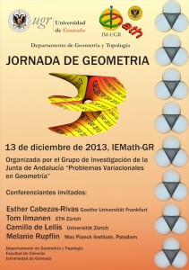 Cartel evento: Geometry Day 2013