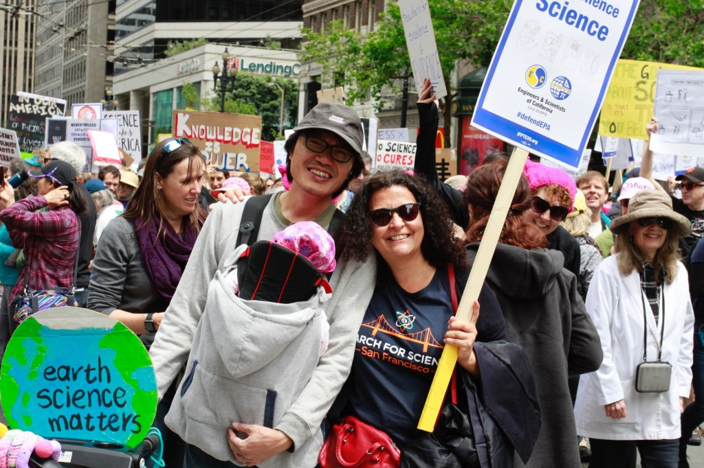 March for Science SF