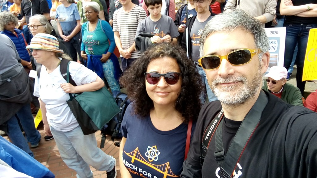 March for ScienceSF
