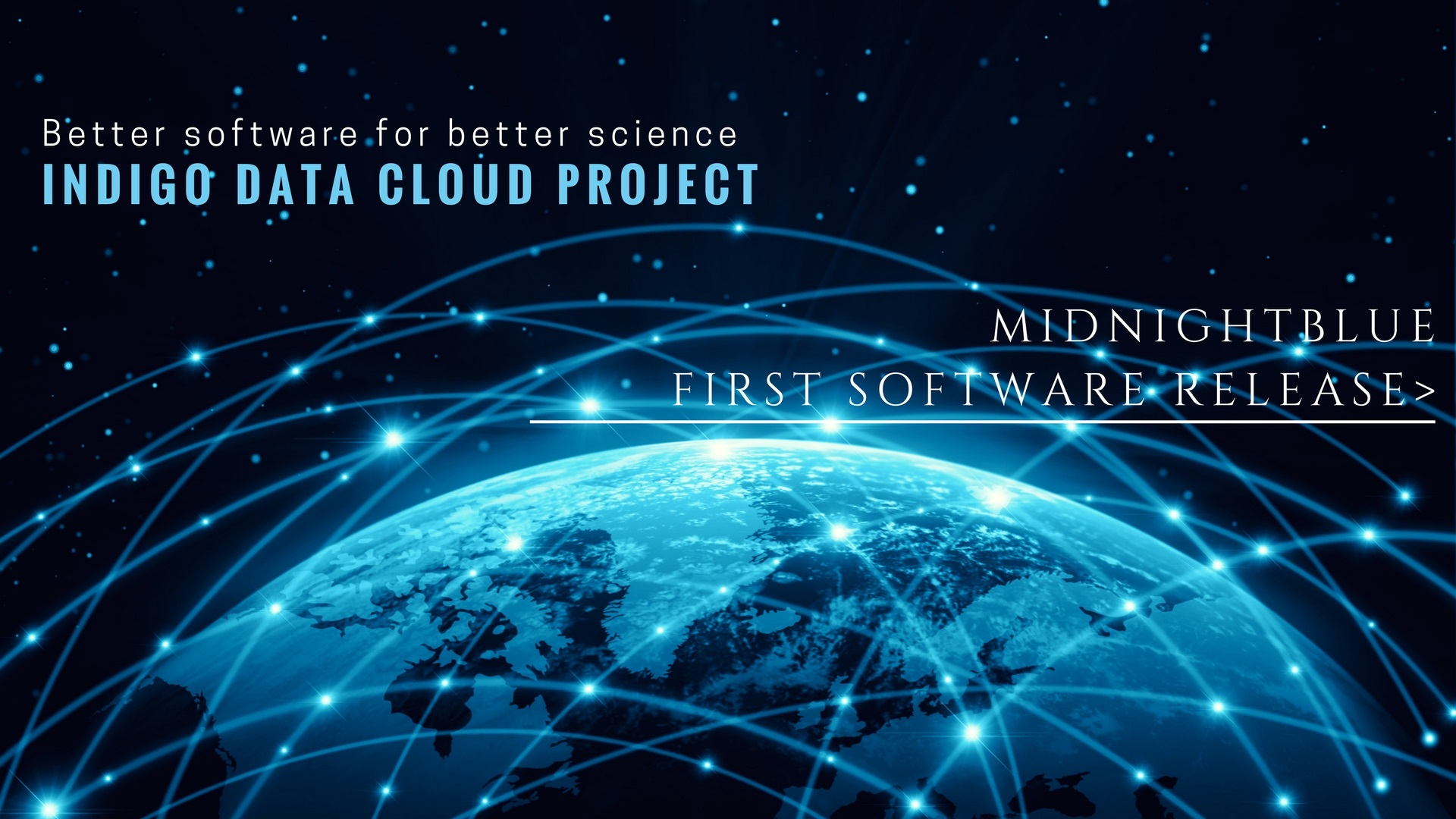 MIDNIGHTBLUE first Software release