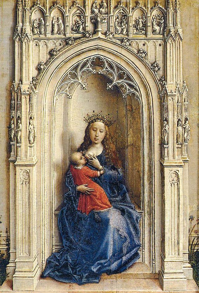 640px-Weyden-VirginChild-Thyssen