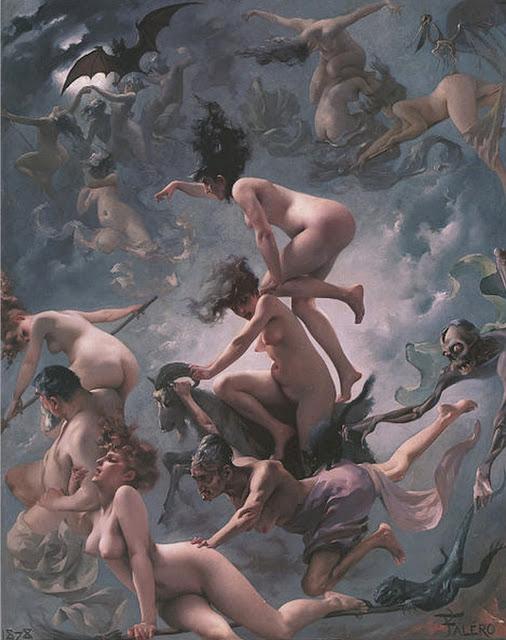 Realismo Clásico de  Luis Ricardo Falero 1851 - 1896 (Granada España) 4
