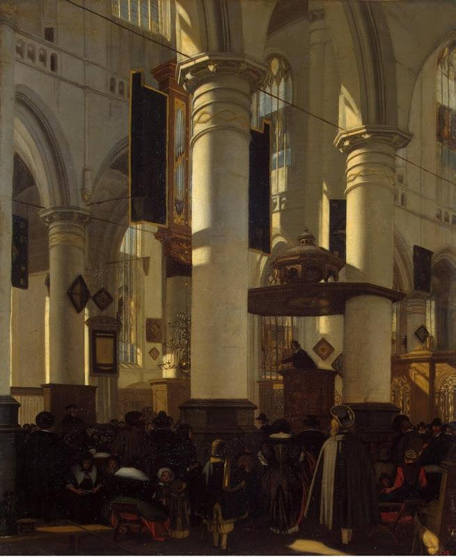 Witte Emmanuel de Interior of a Church