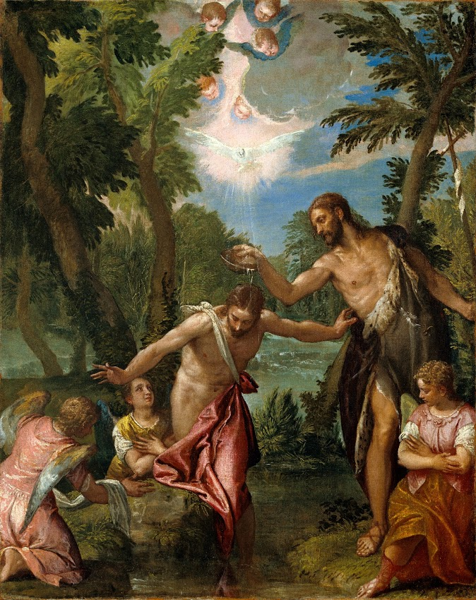ZACHOW - Paolo Veronese - The Baptism of Christ