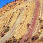 Arcillas, areniscas, carbonatos y yesos: unidad K1 (Carretera Granada-Jaén)