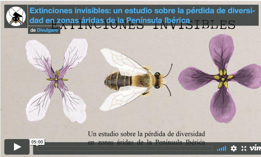Extinciones invisibles