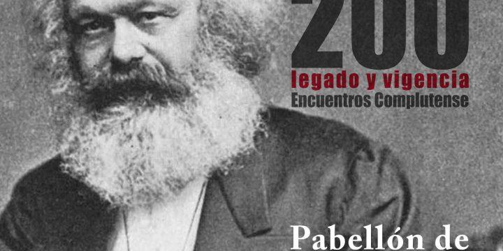 """José Luis Moreno: """"Marx y los nuevos problemas», 26 de junio"""