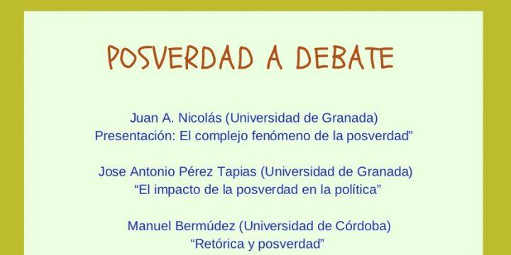 Día de la Verdad – Posverdad a debate, 5 de abril