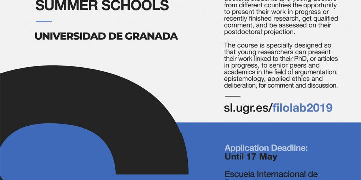 [Call] FiloLab International Summer School 2019. Extension of the deadline for submitting proposals: May 31st