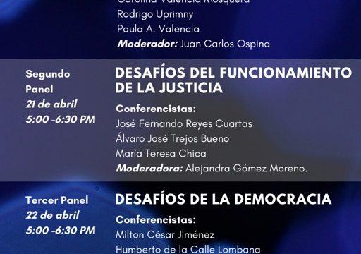 Paula A. Valencia: «Desafíos del Estado de Derecho», 20 de abril
