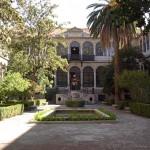 Patio de la Facultad de Traducción e Interpretación, Universidad de Granada.