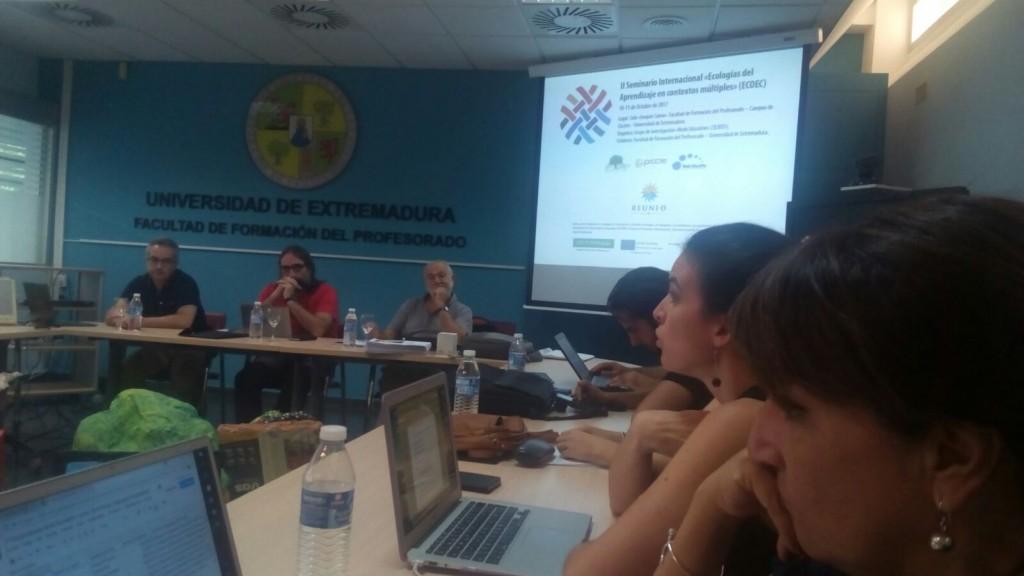 Ecologías del aprendizaje en contextos múltiples. II Seminario Internacional