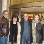 José Carlos Rosales, Milena Rodríguez,  Jorge Luis Arcos y Silvina, Granada, 2009