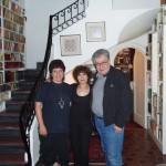 Milena Rodríguez, Cristina Pacheco y José Emilio Pacheco, México, 2007