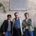 Milena Rodríguez, José Emilio Pacheco y José Carlos Rosales, La Alhambra, 2005