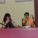 """Milena Rodríguez y Lina de Feria, presentación antología """"Otra Cuba secreta"""", La Habana, 2014"""