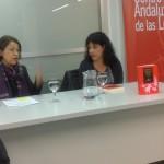 """Márgara Russotto y Milena Rodríguez, presentación de """"Entre el cacharro doméstico y la Vía Láctea. Poetas cubanas e hispanoamericanas"""", Granada, 2013"""