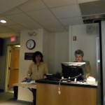 Milena Rodríguez y Ana G. Chichester, conferencia de MRG, University of Mary Washington (USA), 2012