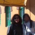 Milena Rodríguez y Laura Scarano, Granada, 2013