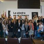 Encuentro La Piedra en el Charco, Milena Rodríguez, Karla Suárez y otros, Teruel, 2008