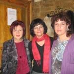 Juana Castro, Ángeles Mora y Milena Rodríguez, 2008