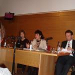 Milena Rodríguez, Lectura en Instituto Cervantes de Londres, presentación de Stephen Hart, 2010