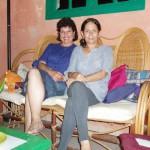 Milena Rodríguez y Reina María Rodríguez, La Habana, 2010