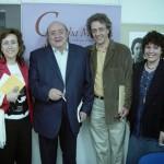 María Rosal, Diego Jesús Jiménez, José Carlos Rosales y Milena Rodríguez, Granada, 2004