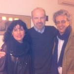 Milena Rodríguez, Eduardo Chirinos y José Carlos Rosales, Granada, 2013