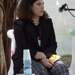 Milena Rodríguez, Feria del Libro de La Habana, presentación antología Insuficiencia de la escala y el iris, de Rubén Martínez Villena, 3 de febrero, 2003