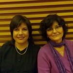 Milena Rodríguez y Ángeles Mora, Granada, 2011