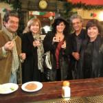 José Antonio Mesa Toré, Jeannette Clariond, Aurora Luque, José Carlos Rosales y Milena Rodríguez, Málaga, 2011