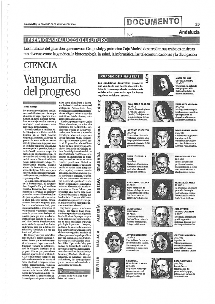 """Vanguardia del progreso""."