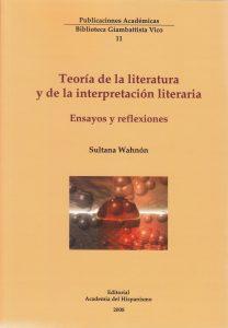 Teoría de la literatura y de la interpretación literaria